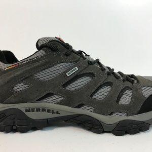 Merrell Mens Moab 2 Beluga Hiking Shoe Size 10.5